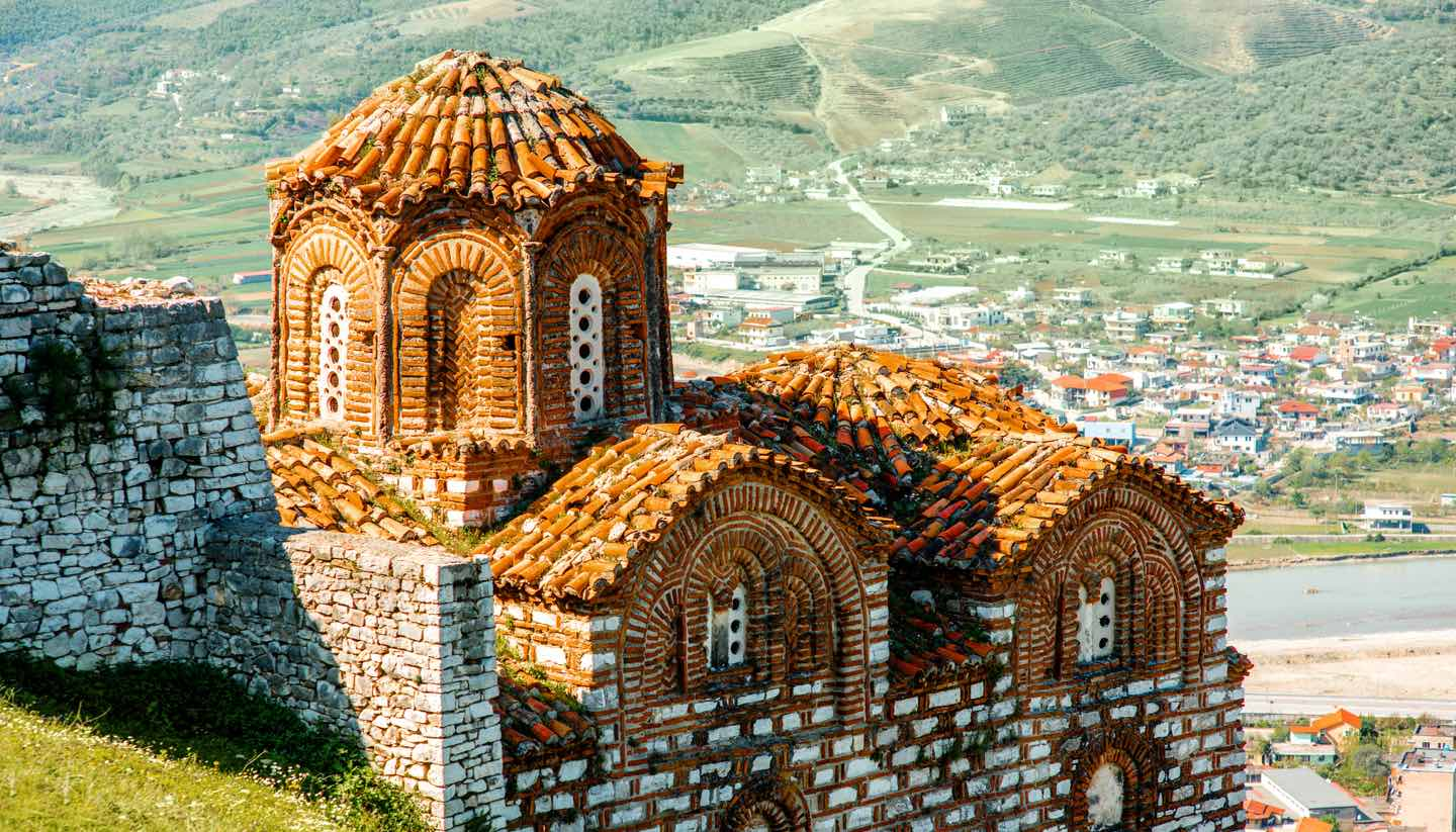 Albanien - St. Theodores church in Berat