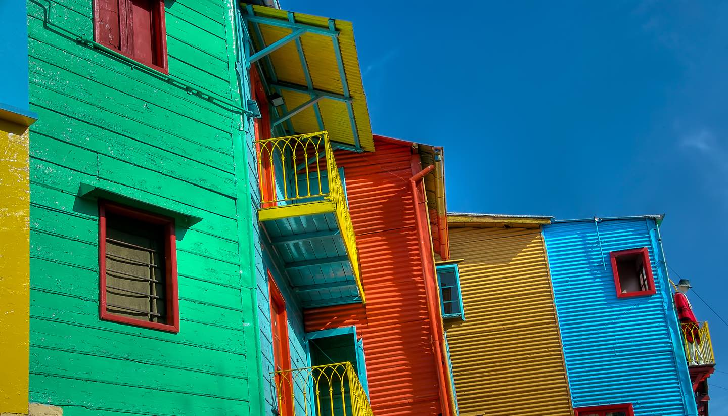 Buenos Aires - The Colors of Caminito in Buenos Aires
