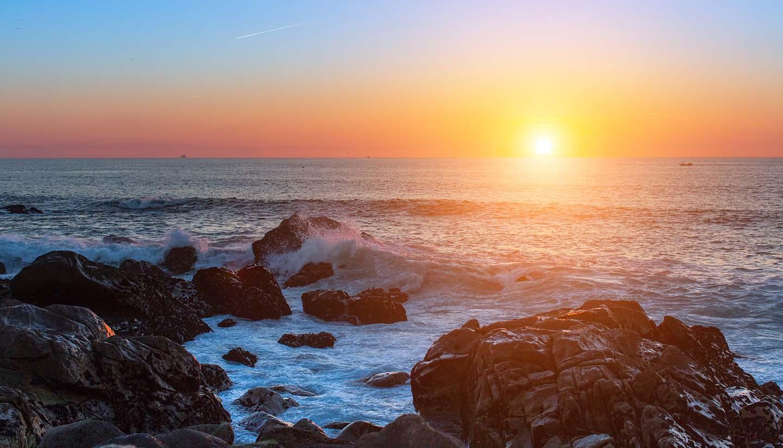 Newfoundland & Labrador - Sunset on the rocky Atlantic coast.