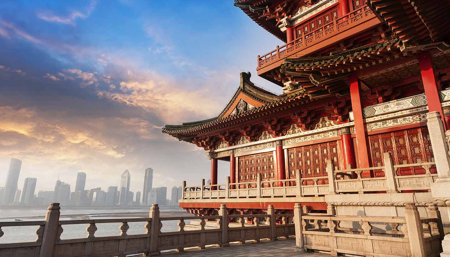 Peking - ancient Chinese architecture