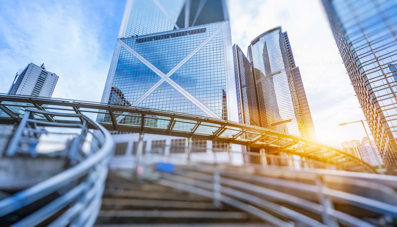 Hongkong - CBD of Hong Kong