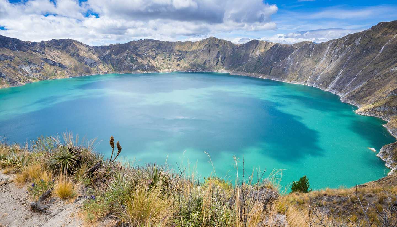 Ecuador - Quilotoa crater lake, Ecuador