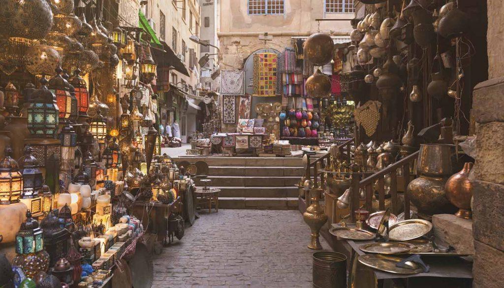 Kairo - Khan al-Khalili Bazaar