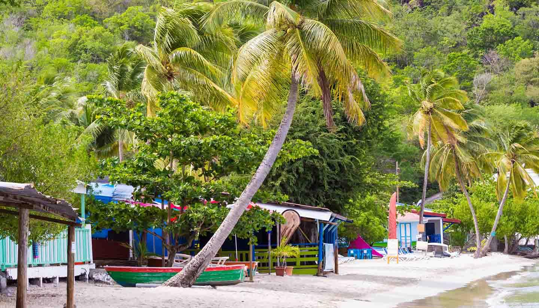 Französisch-Polynesien - The Caribbean beach, Martinique.