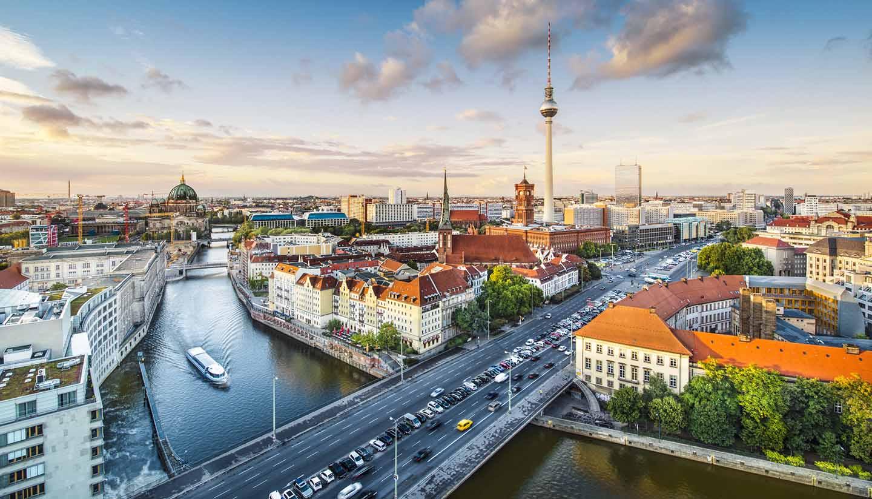 Berlin - Berlin Cityscape