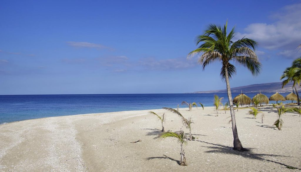 Haiti - Seascape, paradise beach, Montrouis, Haiti