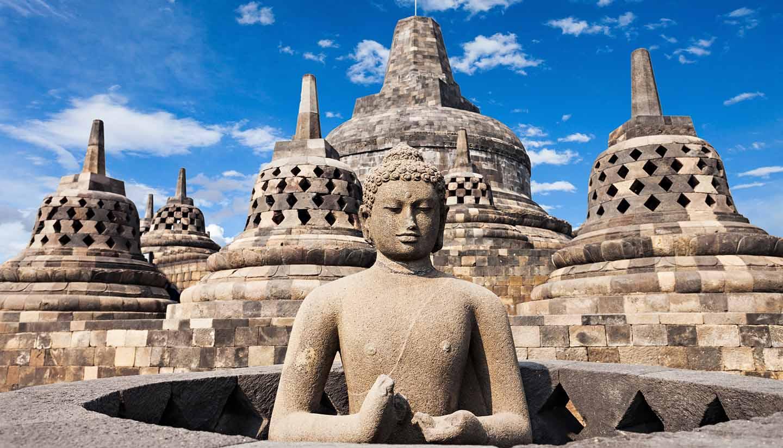 Indonesien - Borobudur Temple
