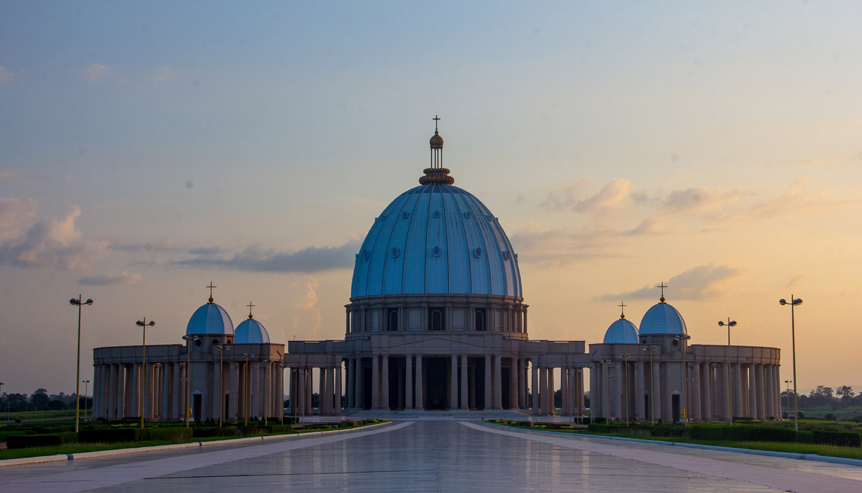Côte d'Ivoire - Yamssoukro Cathedral