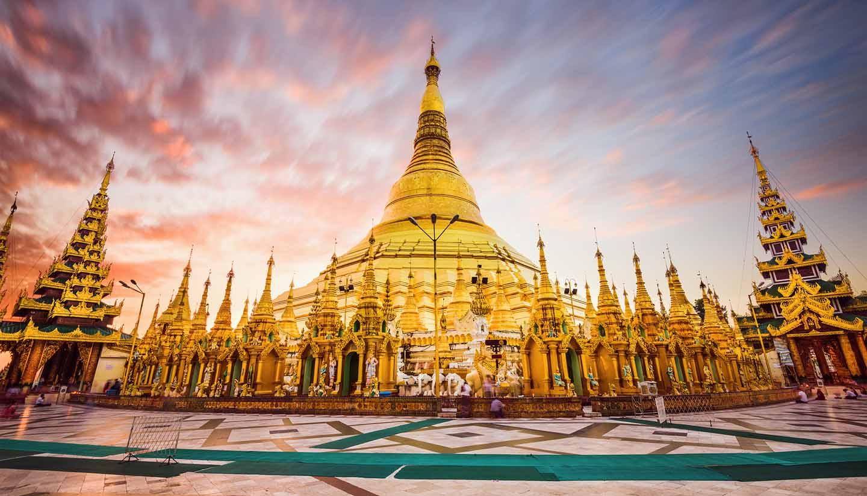 Myanmar - Shwedagon Pagoda of Myanmar