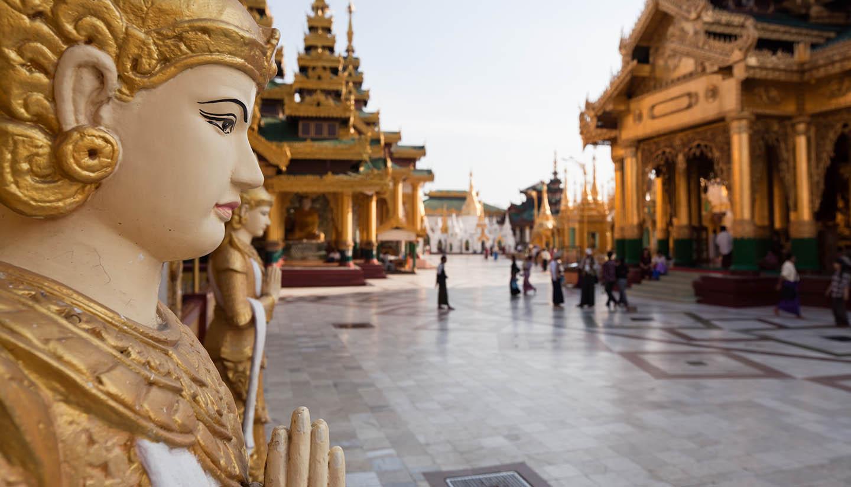 Myanmar - Schwedagon pagoda