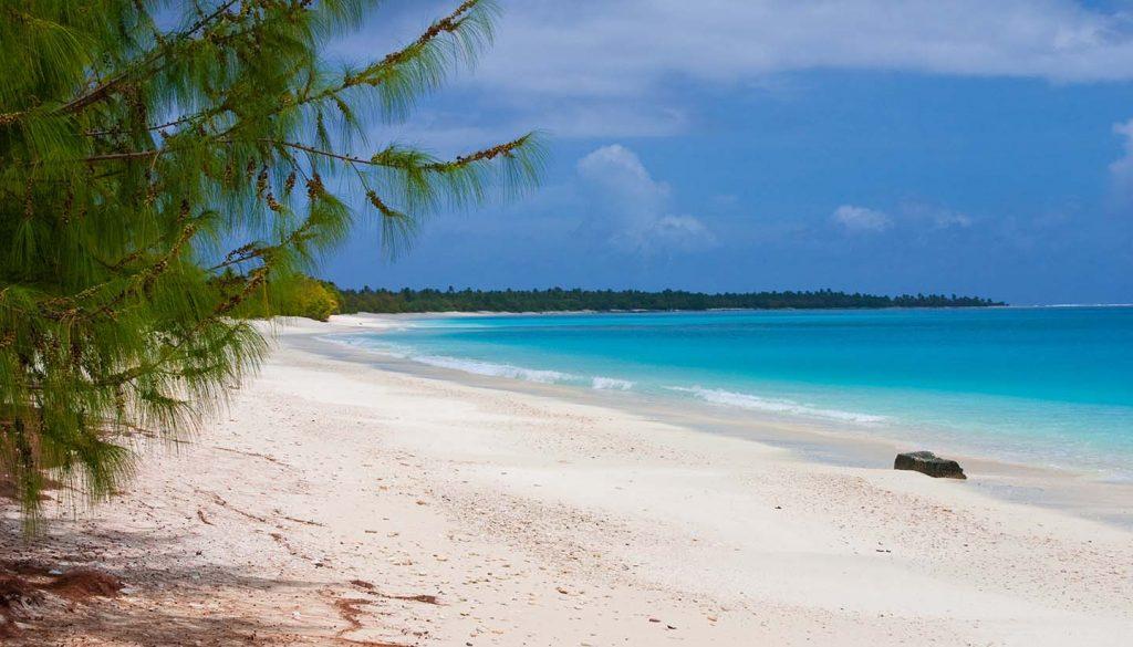 Marshall-Inseln - A stunning view of Bikini Atoll Lagoon