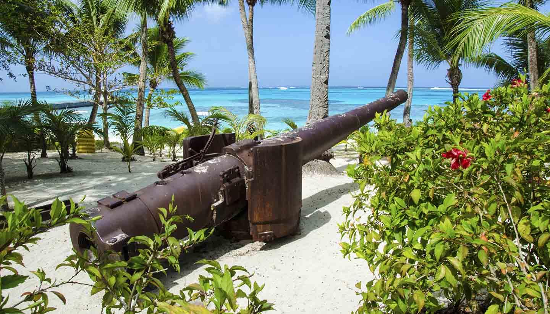 Nördliche Marianen - Managaha Beach Cannon