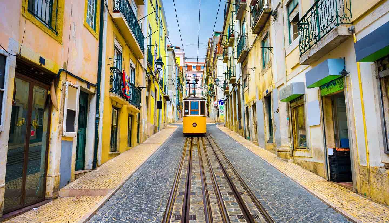 Lissabon - Lisbon Portugal Tram