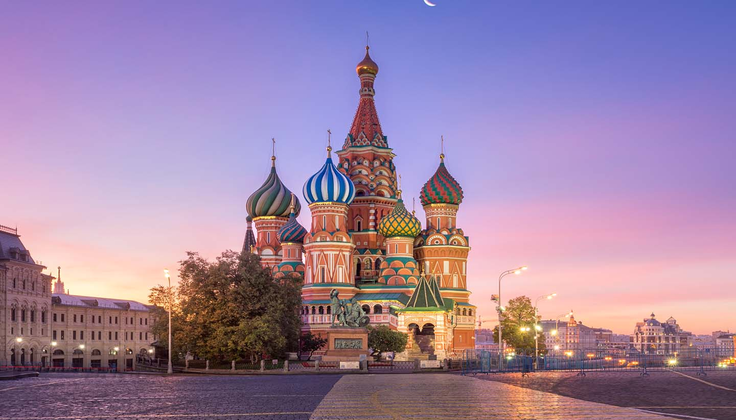 Moskau - St. Basil's Cathedral