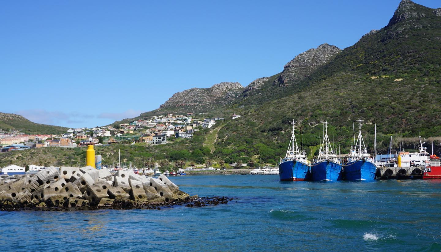 Kapstadt - Yacht port in Cape town