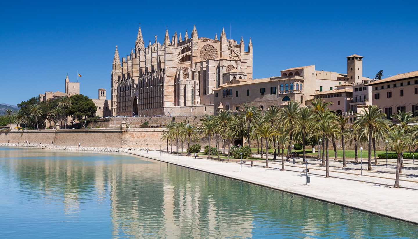 Balearen - La Seu - Cathedral of Palma