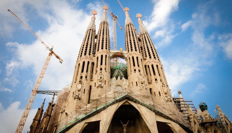 Spanien - Cathedral Sagrada Familia, Barcelona, Spain