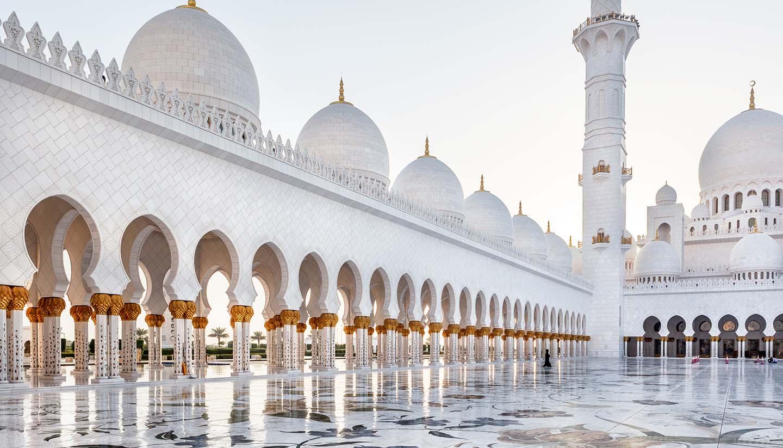 Vereinigte Arabische Emirate - Sheikh Zayed Mosque, Abu Dhabi