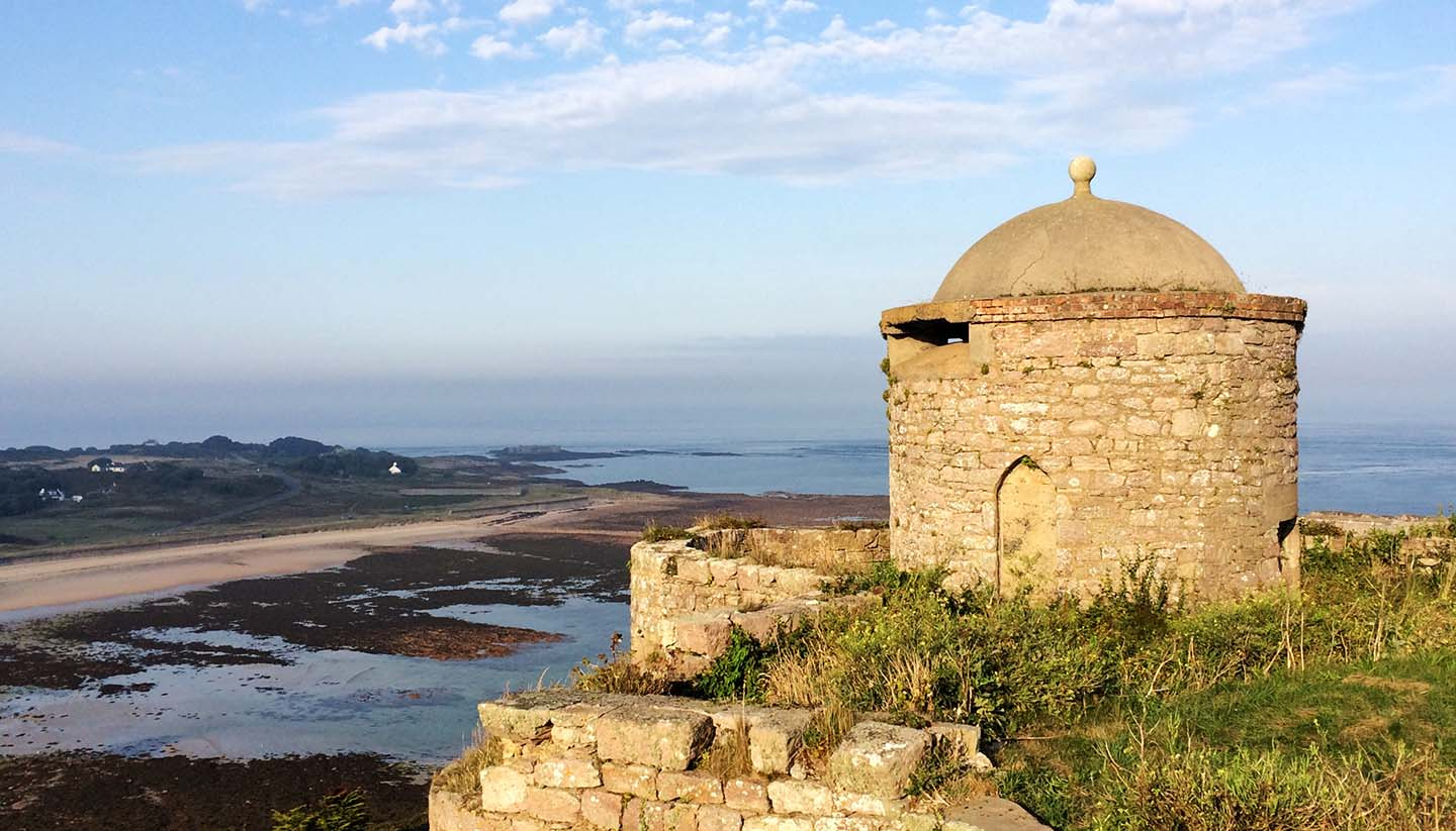 Alderney - Pepper Pot and Essex Castle, Alderney