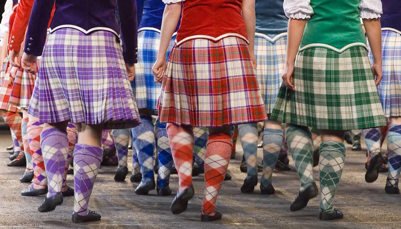 Schottland - Highland dancers at 2006 Edinburgh Millitary Tattoo