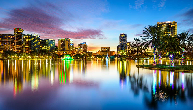 Orlando - Orlando, Florida Skyline