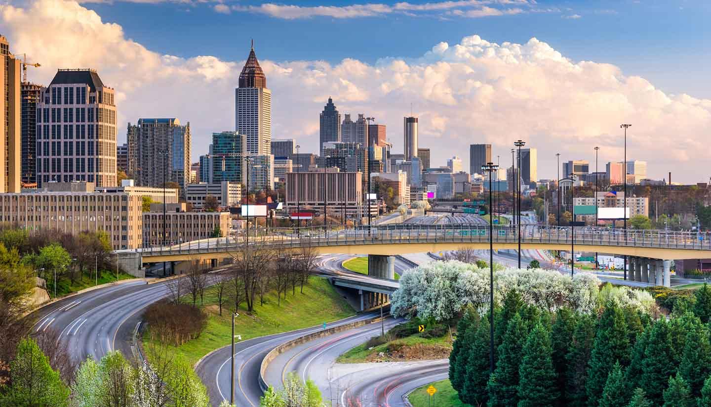 Georgia - Atlanta Georgia Skyline