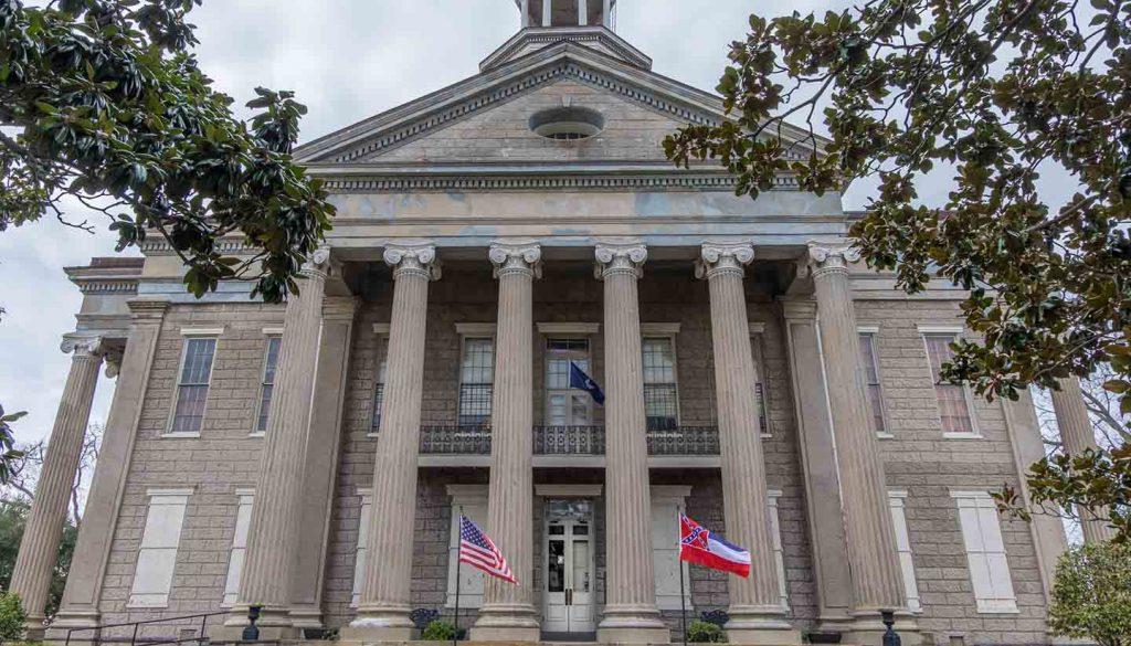 Mississippi - Old Courthouse at Vicksburg, Mississippi