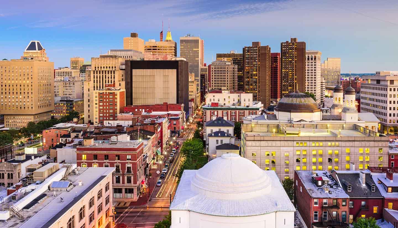 Maryland - Baltimore Maryland Skyline
