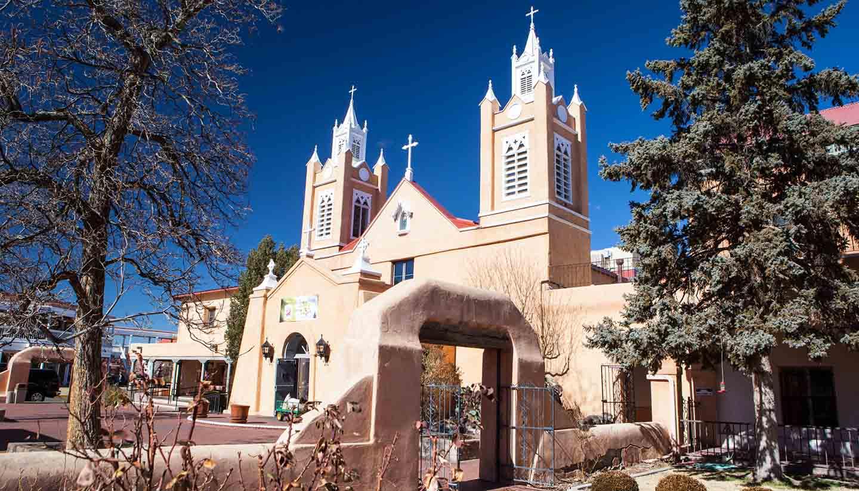 New Mexico - San Felipe de Neri Church
