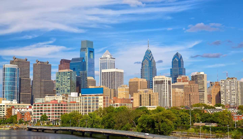 Pennsylvania - Philadelphia Skyline
