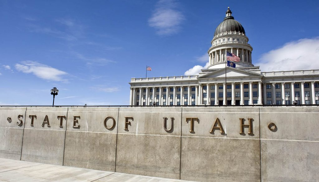 Utah - State Capital Building of Utah.