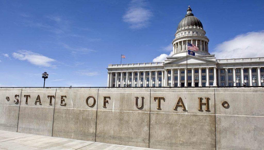 Utah - State Capital Building of Utah.