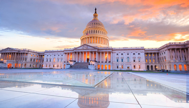 Washington DC - The United States Capitol building