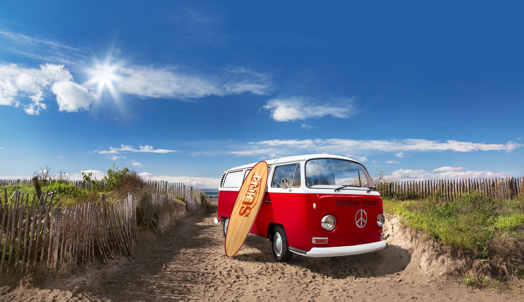 Der Deutschen beliebtesten Nah- und Sparziele - On the Beach