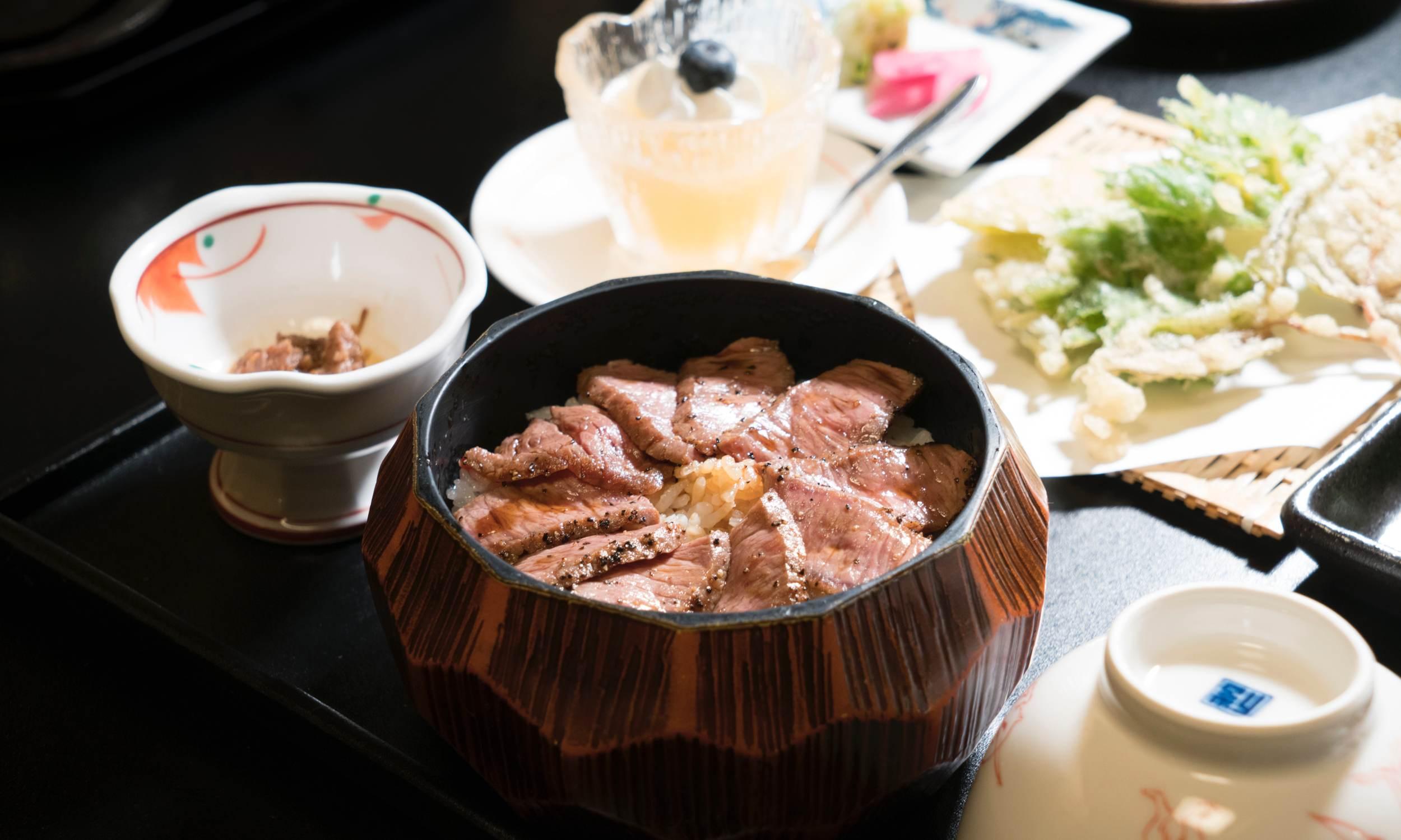 Hida Beef Hitsumabushi donburi