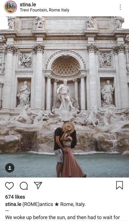 Nimm Dir Zeit für Romantik am Trevi-Brunnen!