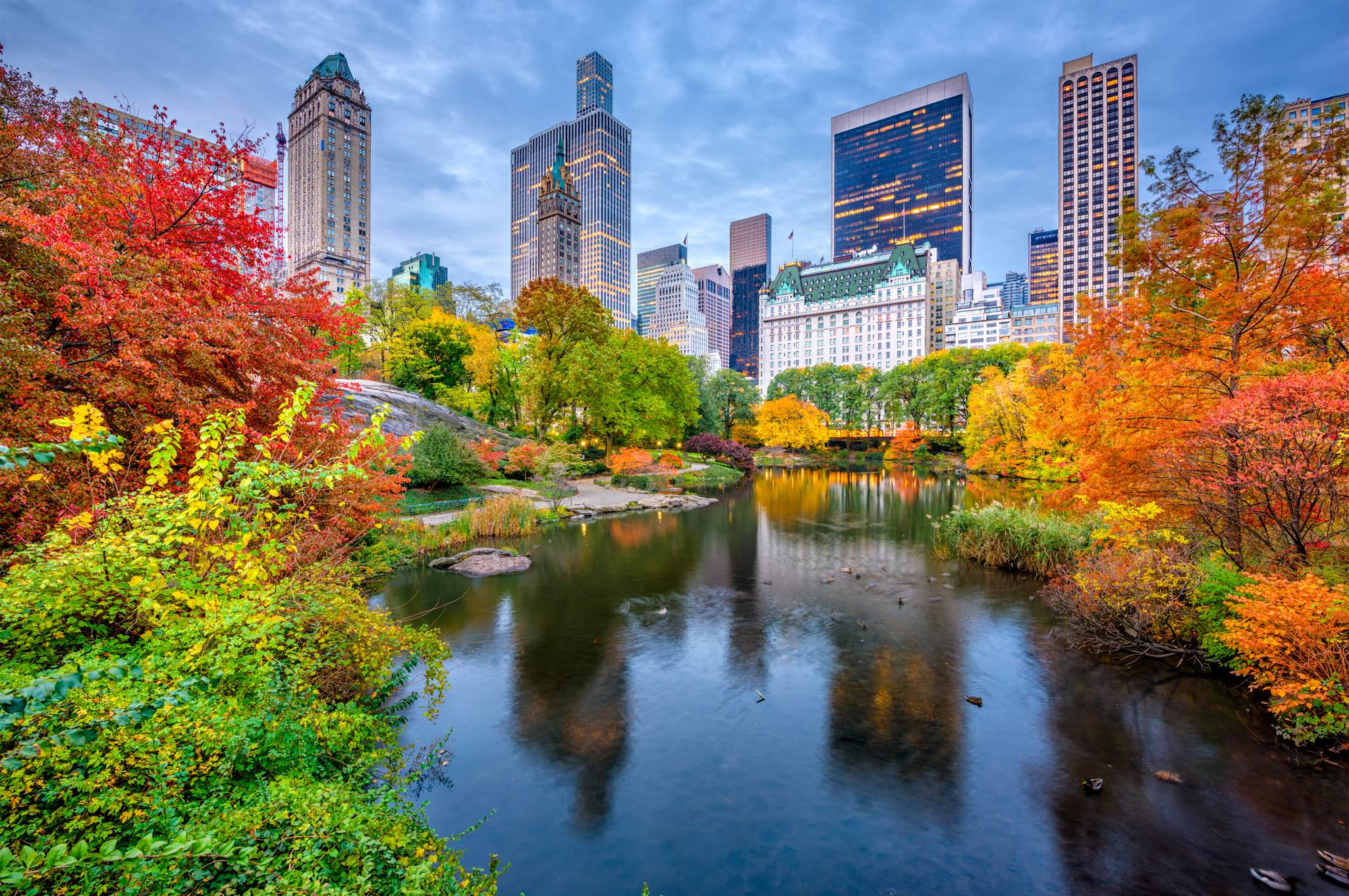 Im Herbst in New York - shu-USA-New York-Der Central Park im Herbst-711159205-2048x1360