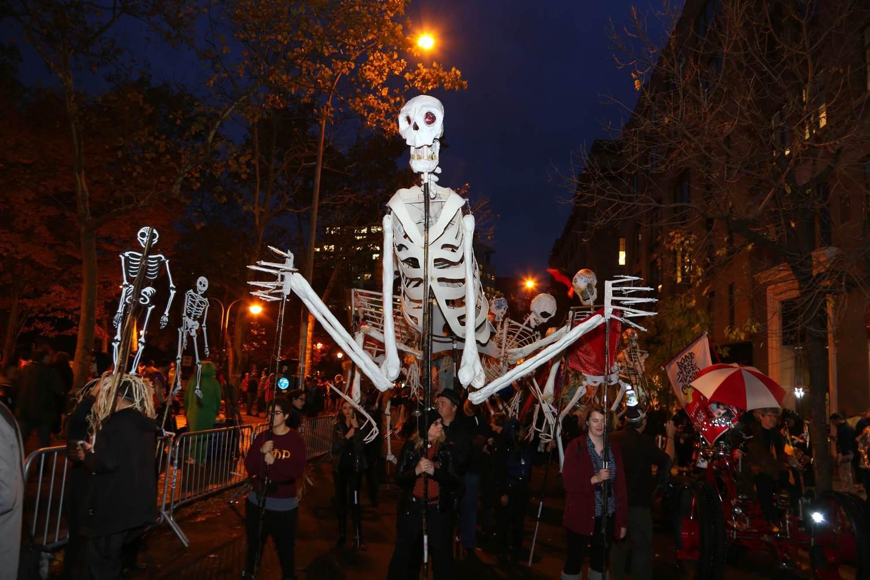 Erleben Sie die Village Halloween Parade
