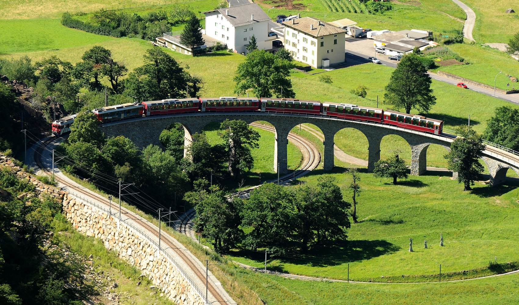 Der Bernina Express, Switzerland