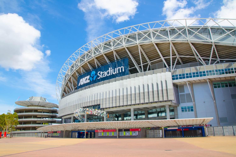 Das Stadium Australia, auch als ANZ-Stadion bekannt, befindet sich im Sydney Olympic Park