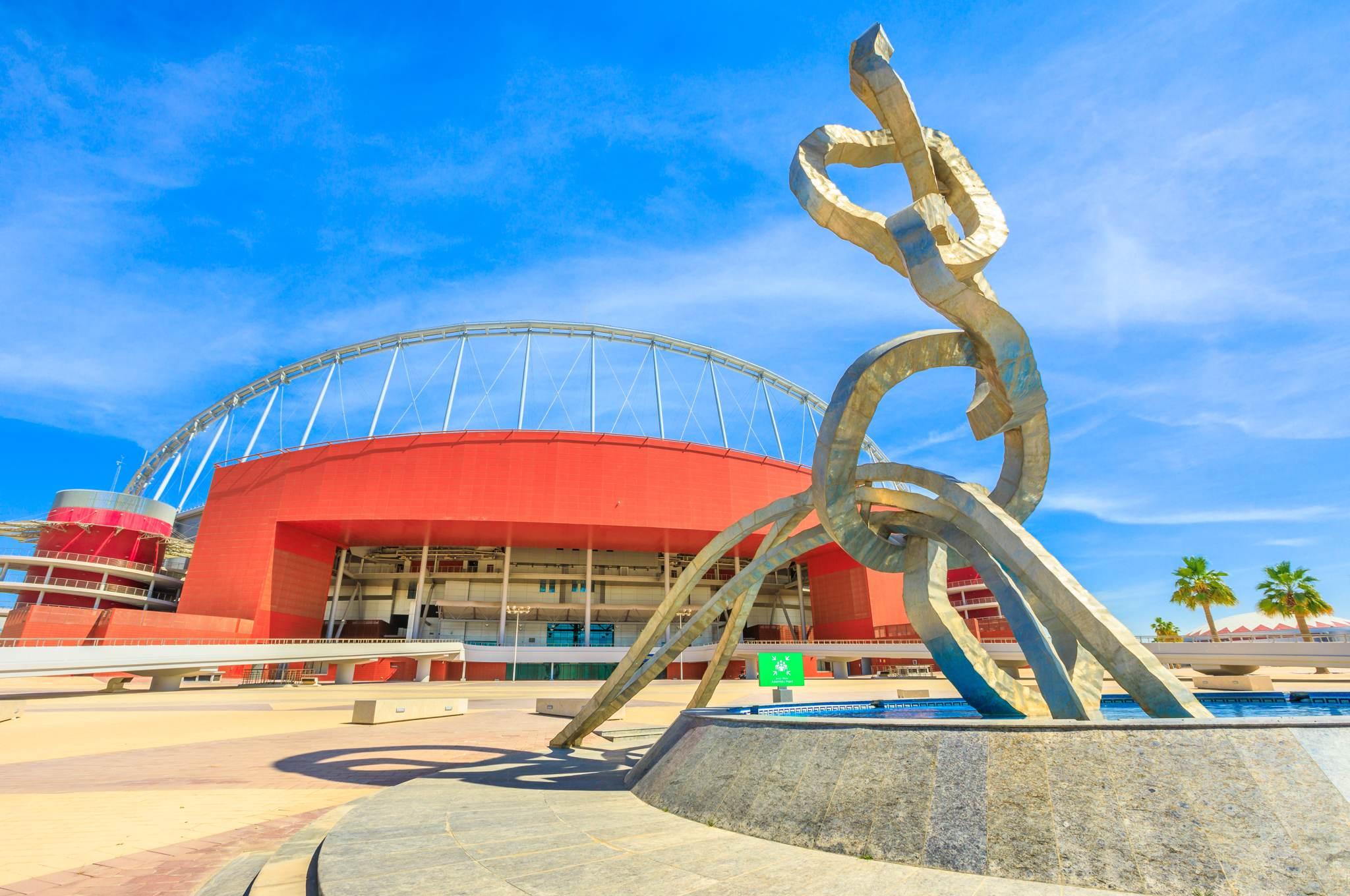 Die Top 5 ehemaliger olympischer Stätten - Olympic Ring Monument, Doha, Katar