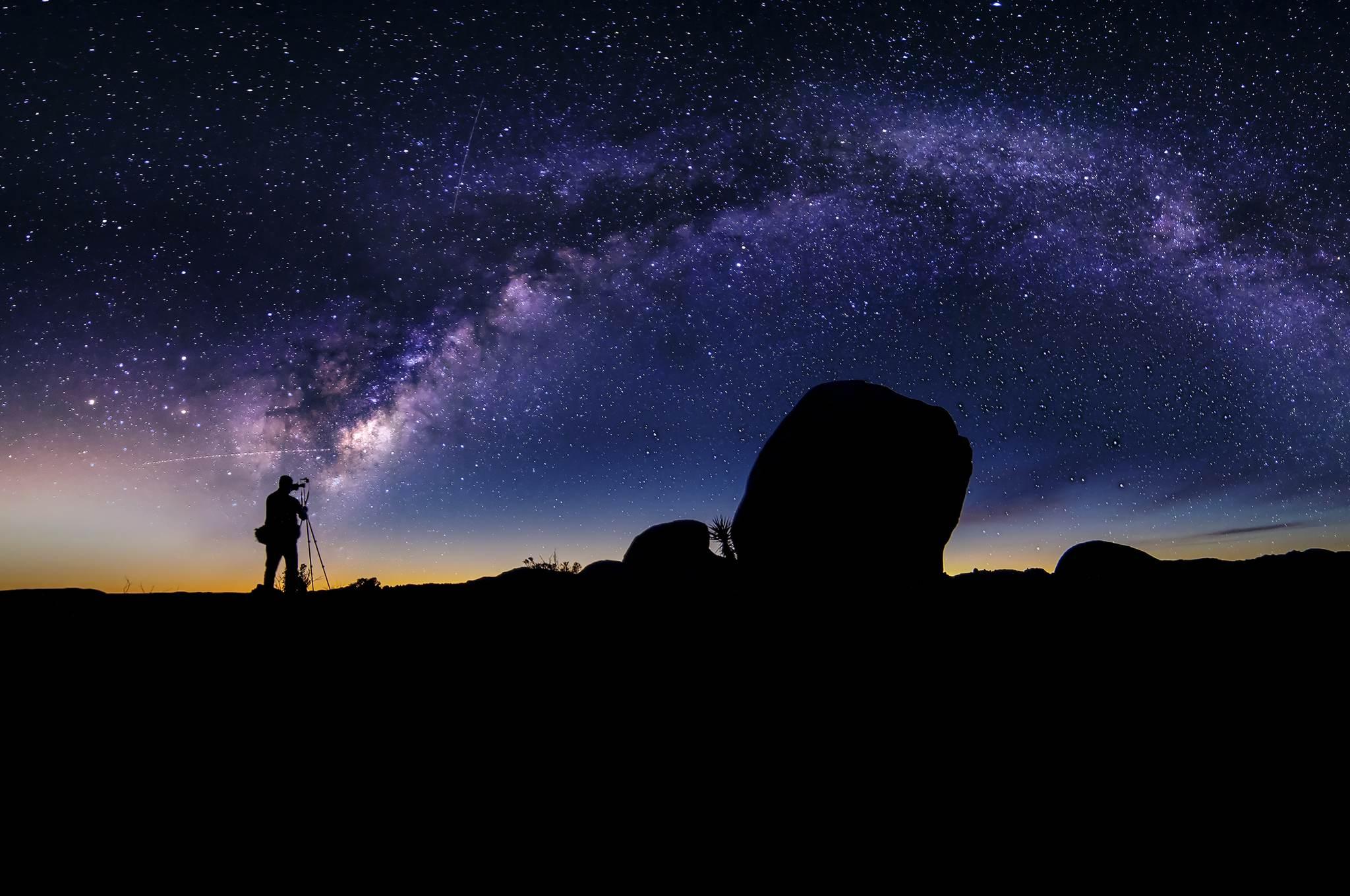 Die schönsten Fotomotive weltweit - Astrofotografie in der Wüste