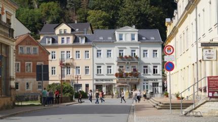 Bad Schandau, ein weiterer Kneippkurort in Deutschland